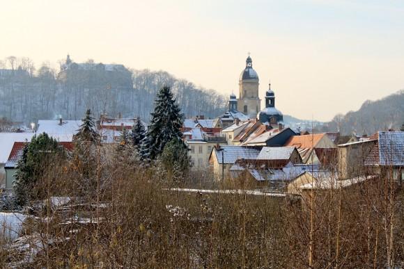 Schnee in Waltershausen